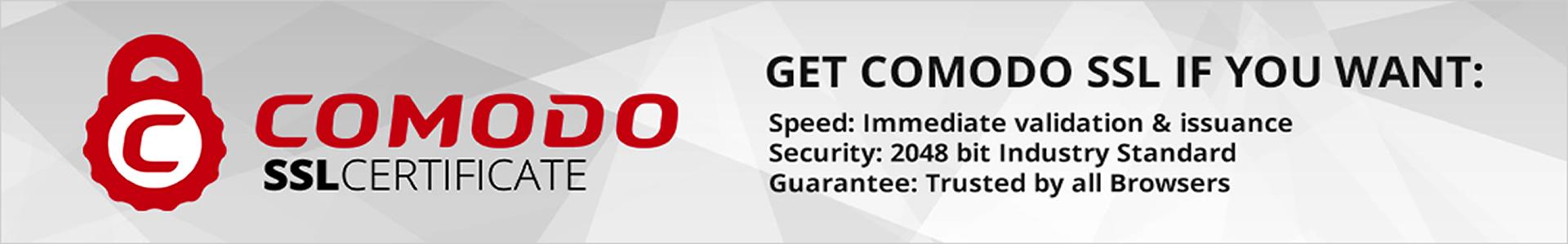 SSL Certificates - Secure your website using Comodo digital. Combo SSL