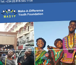 Mady Foundation - Website Design
