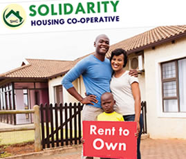 Solidarity Housing Co-operative web design