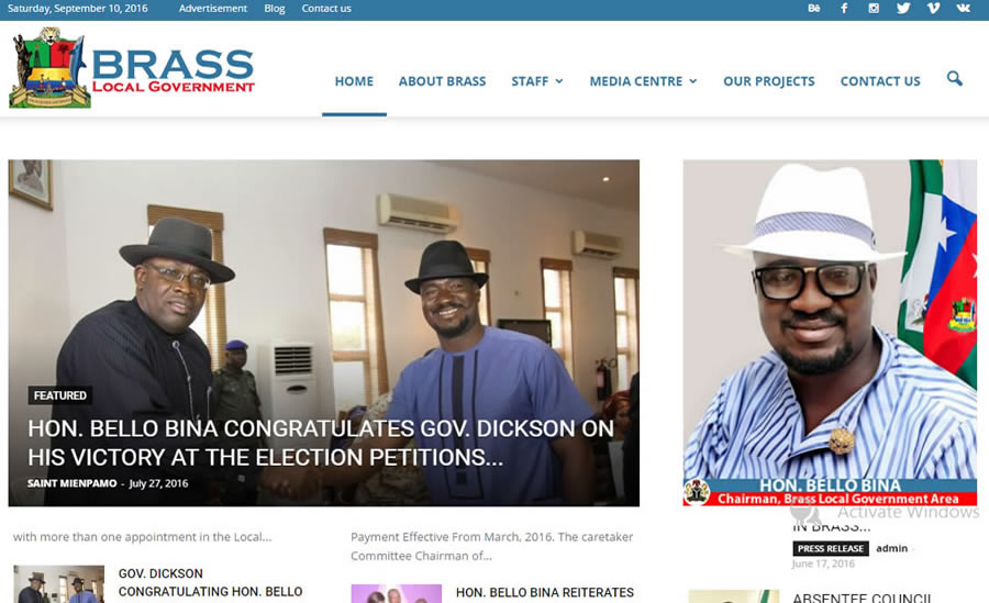 Website Design in Brass, Bayelsa State