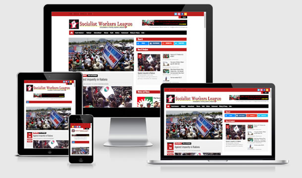 socialistworkersleague Website design showcase