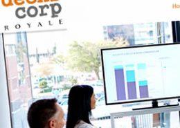 Deenscorp Royale Website Design