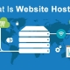 What is website hosting